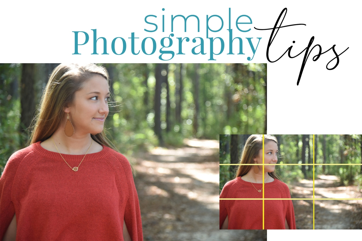 Three tips to make your photos great!